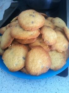 - Cookies aux pétites de chocolat -  cookies-223x300